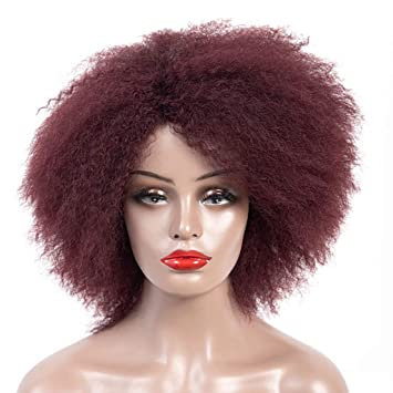 Gorras de pelo corto rizado para mujer: Amazon.es: Belleza