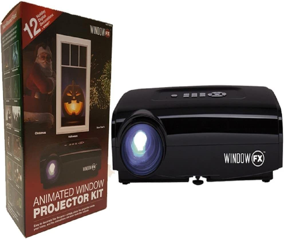 2016 Windowfx Atmos Animated Window Projector Kit Incluye 12 ...