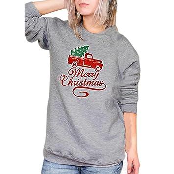 Amazon Com Hot Sale Aimtoppy Merry Christmas Fashion Womens Letter