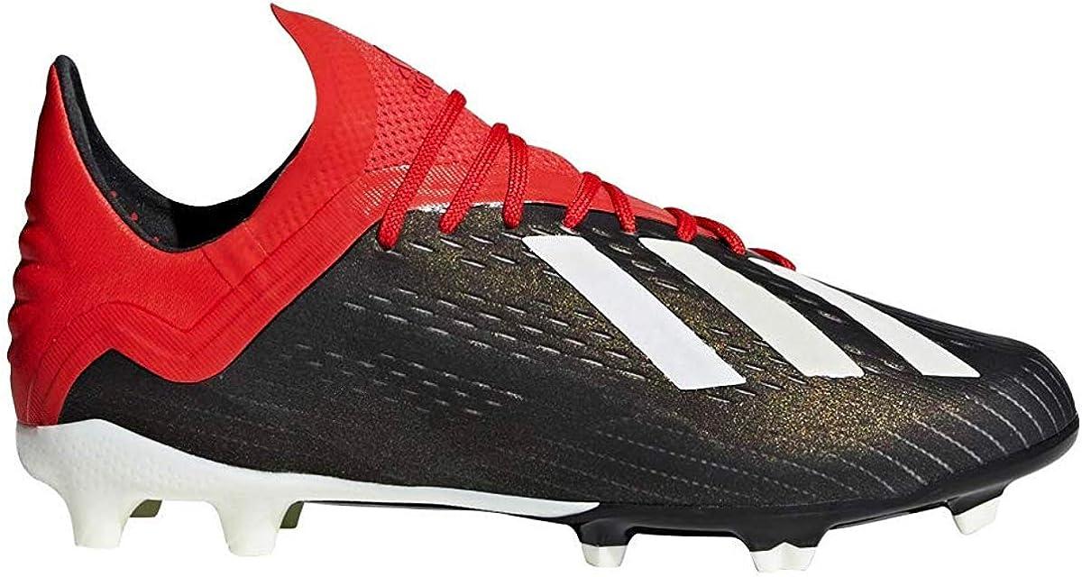 X 18.1 FG Soccer Cleats (1.5, Black