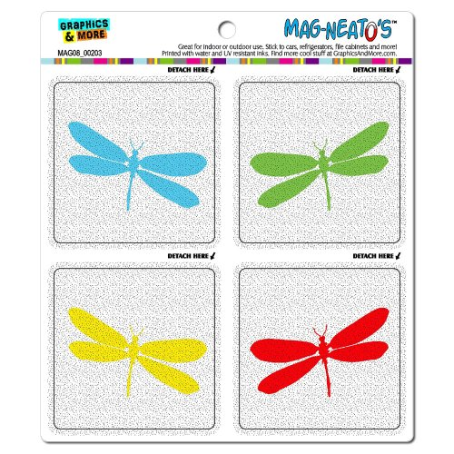Graphics and More Dragonfly Silhouettes Dragonflies Mag-N...