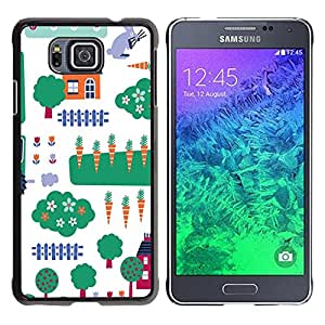 Dragon Case - FOR Samsung ALPHA G850 - you are my summer love - Caja protectora de pl??stico duro de la cubierta Dise?¡Ào Slim Fit