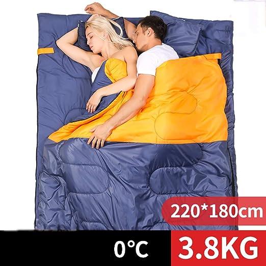 Saco de Dormir Doble a Prueba de frío para Tres Personas ...