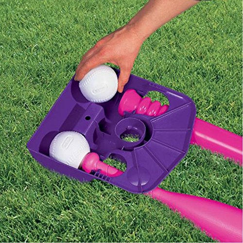 Little Tikes T-Ball Set (Pink) w/5 Balls (Amazon Exclusive) by Little Tikes (Image #2)