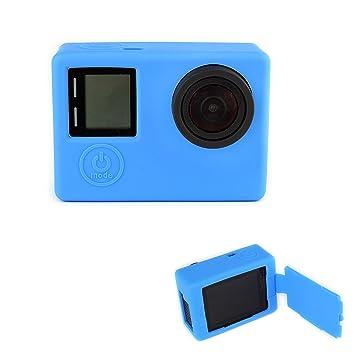 Elsley carcasa de silicona para GoPro Hero 3 + y Hero 4 ...