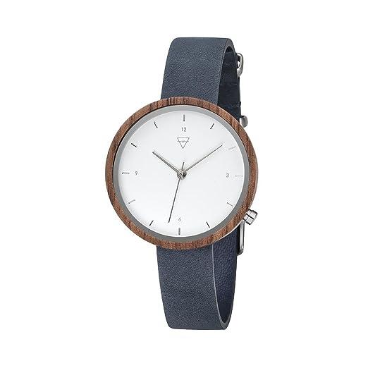 Kerbholz Reloj Digital para Mujer de Cuarzo con Correa en Cuero 4251240402529: Amazon.es: Relojes