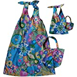 Size 7 Matching Girl And Doll Glitter Beach Cover Up Sundress and Purse