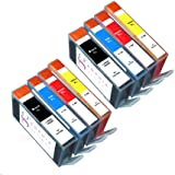 Sophia Global Compatible Ink Cartridge Replacement for HP 564XL (2 Black, 2 Cyan, 2 Magenta, 2 Yellow)