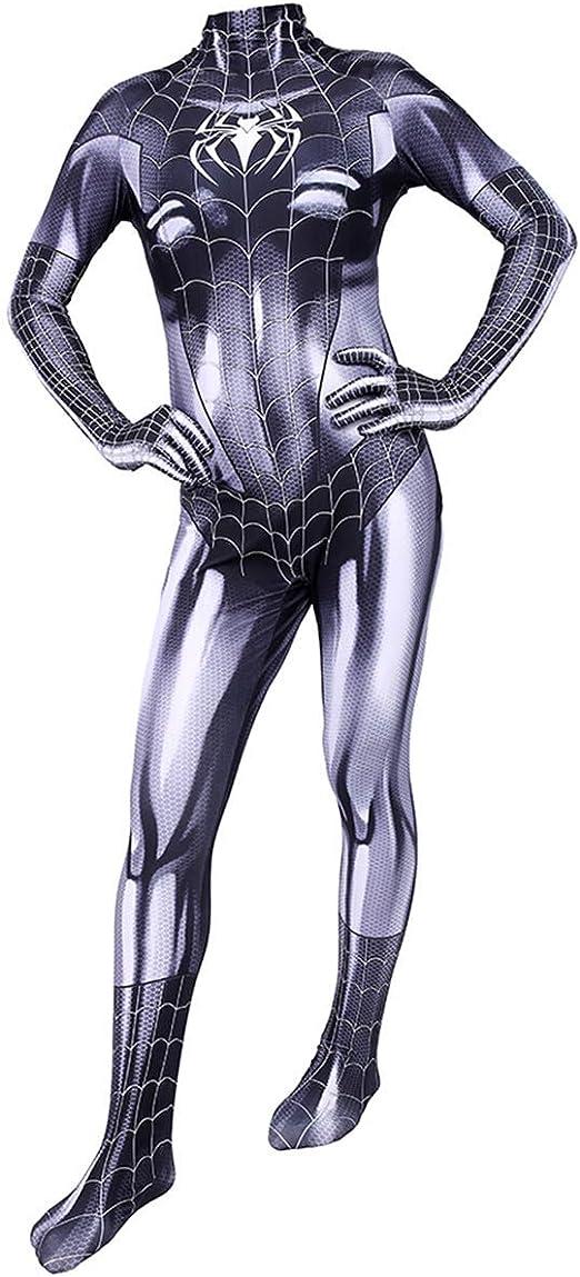 YUW Marvel Spiderman Cosplay Disfraz Juego de películas Héroe ...