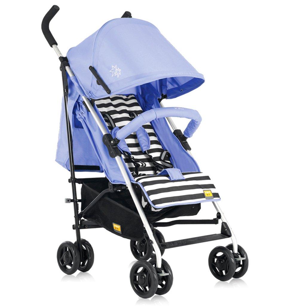HAIZHEN マウンテンバイク ベビーカートライトウェイトは、折り畳み式調節可能な日除けトロリーを持たないことができます。ショッピングバスケット付きベビーキャリッジ62 * 47 * 104cmなし接着剤なしコットン5点シートベルト 新生児 B07DL9JGVNパープル ぱ゜ぷる