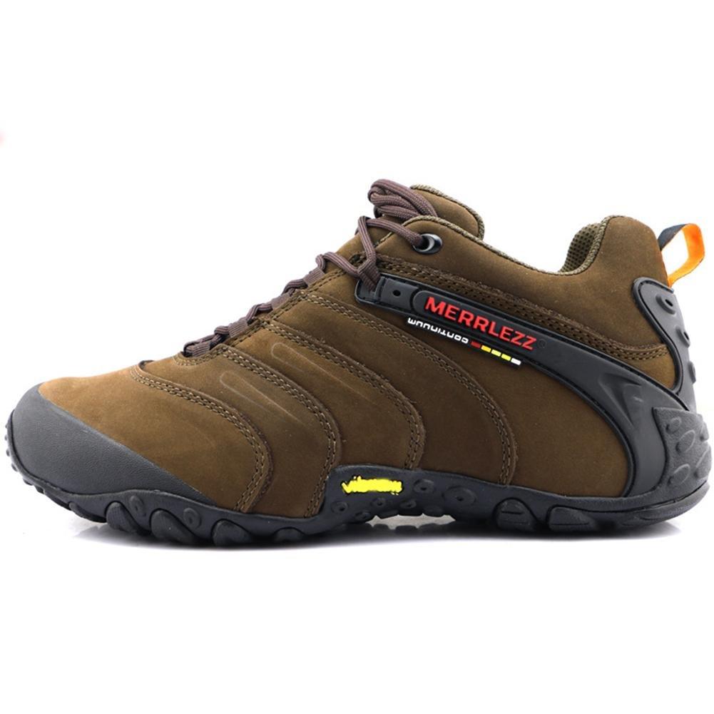Suetar Scarpe da Ginnastica Esterni di Cuoio durevoli e Antiscivolo Sneakers per da Trekking Adatti a Vari…