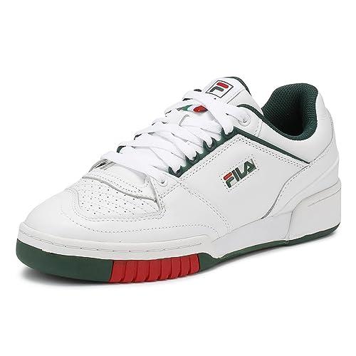 Fila Hombres Blanco/Sycamore Targa Zapatillas-UK 11: Amazon.es: Zapatos y complementos
