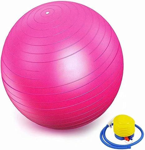 Palla Fitness con Pompa Rapida GYMBOPRO Palla da Ginnastica Antiscivolo Yoga Palla per Fitness Palestra Yoga Pilates