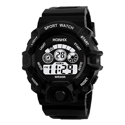2018 Hombres de Moda analógico Militar Digital Deporte LED Impermeable Reloj de Pulsera