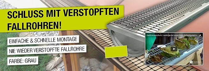 20 M Laubschutz Dachrinnenschutz Dachrinnengitter Laubstop Dachrinne Darifix Fürs Dach Baustoffe & Holz