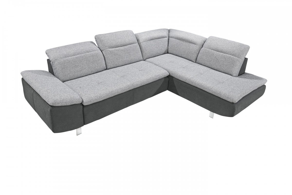 Dreams4home Ecksofa Side Ecksofa Couch L Form Recamiere