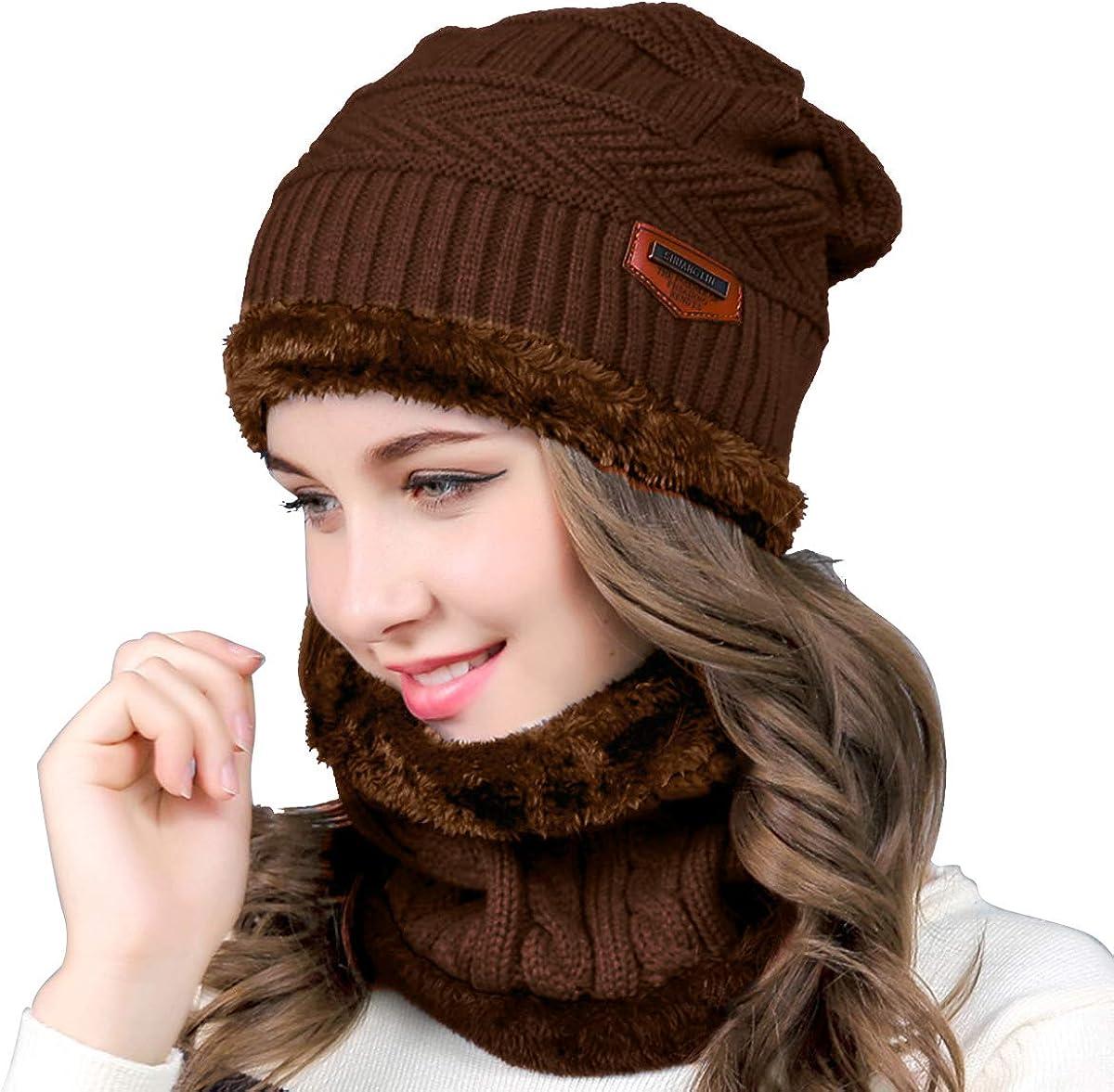 Women Winter Warm Hat Knit...