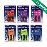 8-Digit Display Calculator, Pocket 8-Digit Display Battery Powered Calculator