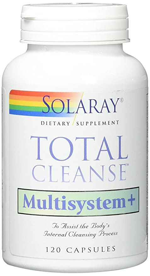 Total Cleanse Multisystem 120 cápsulas de Solaray: Amazon.es ...