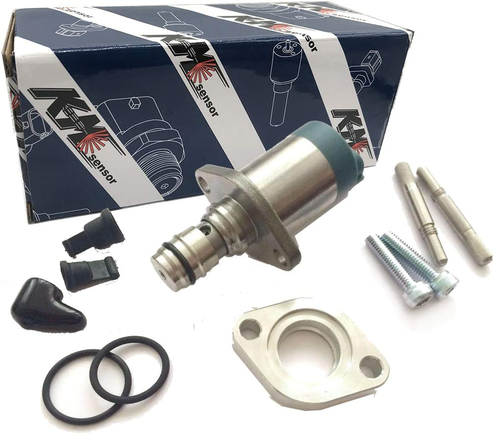 kmsensor brand 8-98145455-1 Diesel Fuel Pump Regulator Suction Control SCV Valve For Isuzu D-Max 2.5 /& 3.0 2010 for Mitsubishi L200 2.5 2010 A6860-LC10A 1460A056T