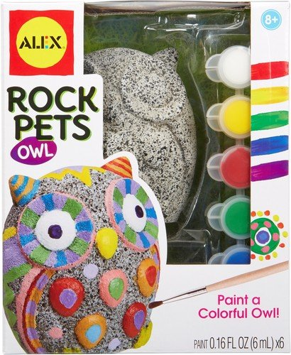 Alex Paint - ALEX Toys Craft Rock Pets Owl Craft
