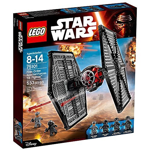 LEGO Star Wars First Order Special Forces TIE Fighter 75101 Star Wars Toy (Lego Star Wars The Force Awakens Characters)