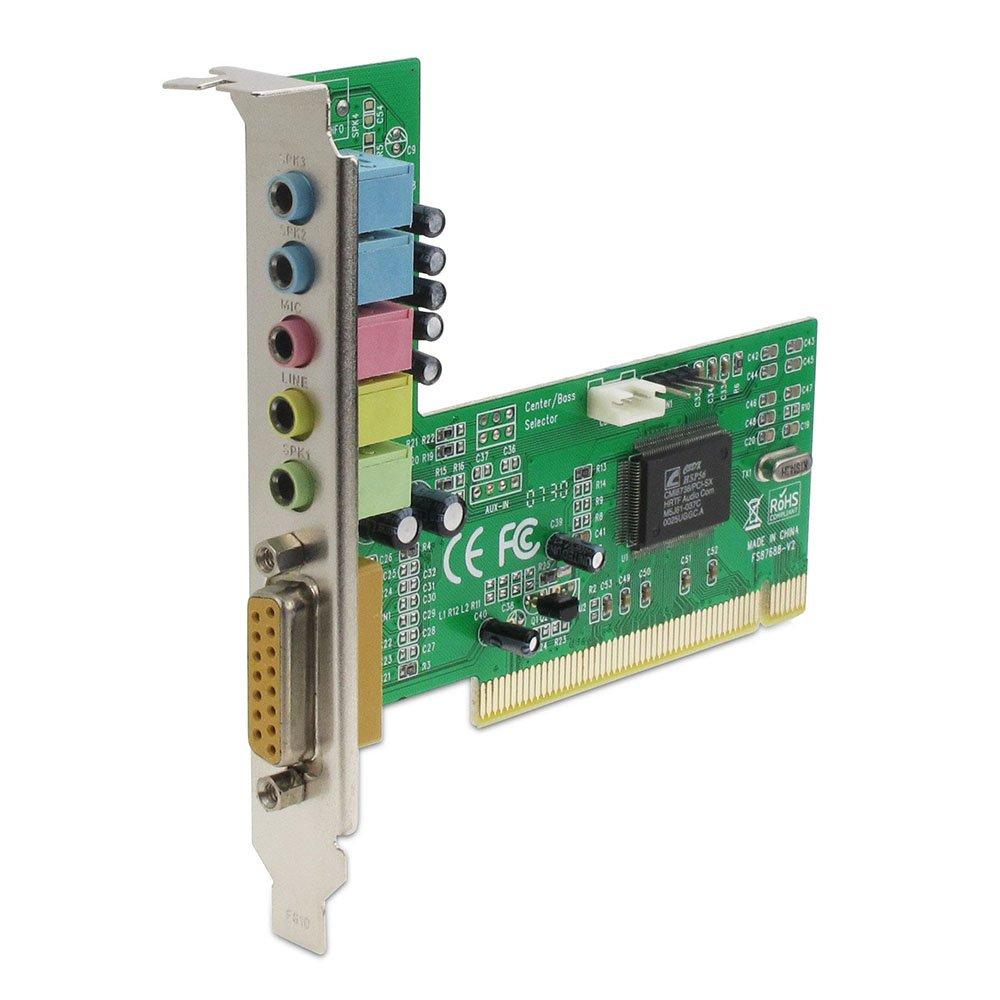 Amazon.com: Sedna – PCI 6 canales Tarjeta de sonido (C-Media ...