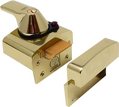 Yale Locks BS1 Visi Pack - Cerradura de Seguridad BS (6 cm), Color latón [Importado de Reino Unido]: Amazon.es: Bricolaje y herramientas
