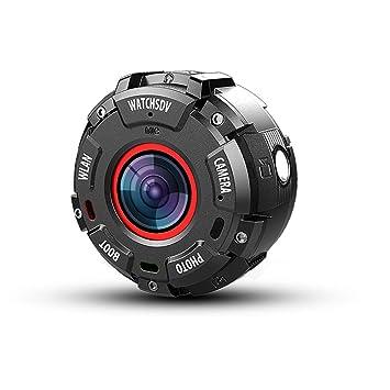 1080P Full HD Camara Deportiva Acuatica,Wifi 20M Impermeable (No Carcasa) Visión Nocturna