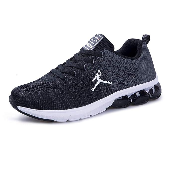 FHTD Hombres Zapatos deportivos casuales Entrenadores de aire Pisos de fitness Correr Competición atlética Zapatillas: Amazon.es: Ropa y accesorios