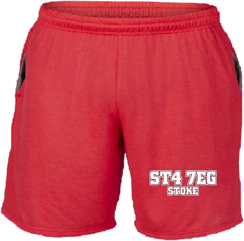 Speed Shirt WC1243 Stoke City Postcode - Pantalón Corto de chándal ...