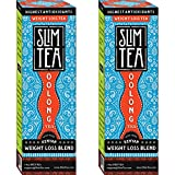 Okuma Nutritional's SlimTea KENYAN-100% All Natural DETOX And WEIGHT LOSS Oolong Tea. Burns Up To 1300% MORE Calories Than Green Tea! High Concentration 2 Month Supply(60 x 2 Cup Tea Bags) 192g.