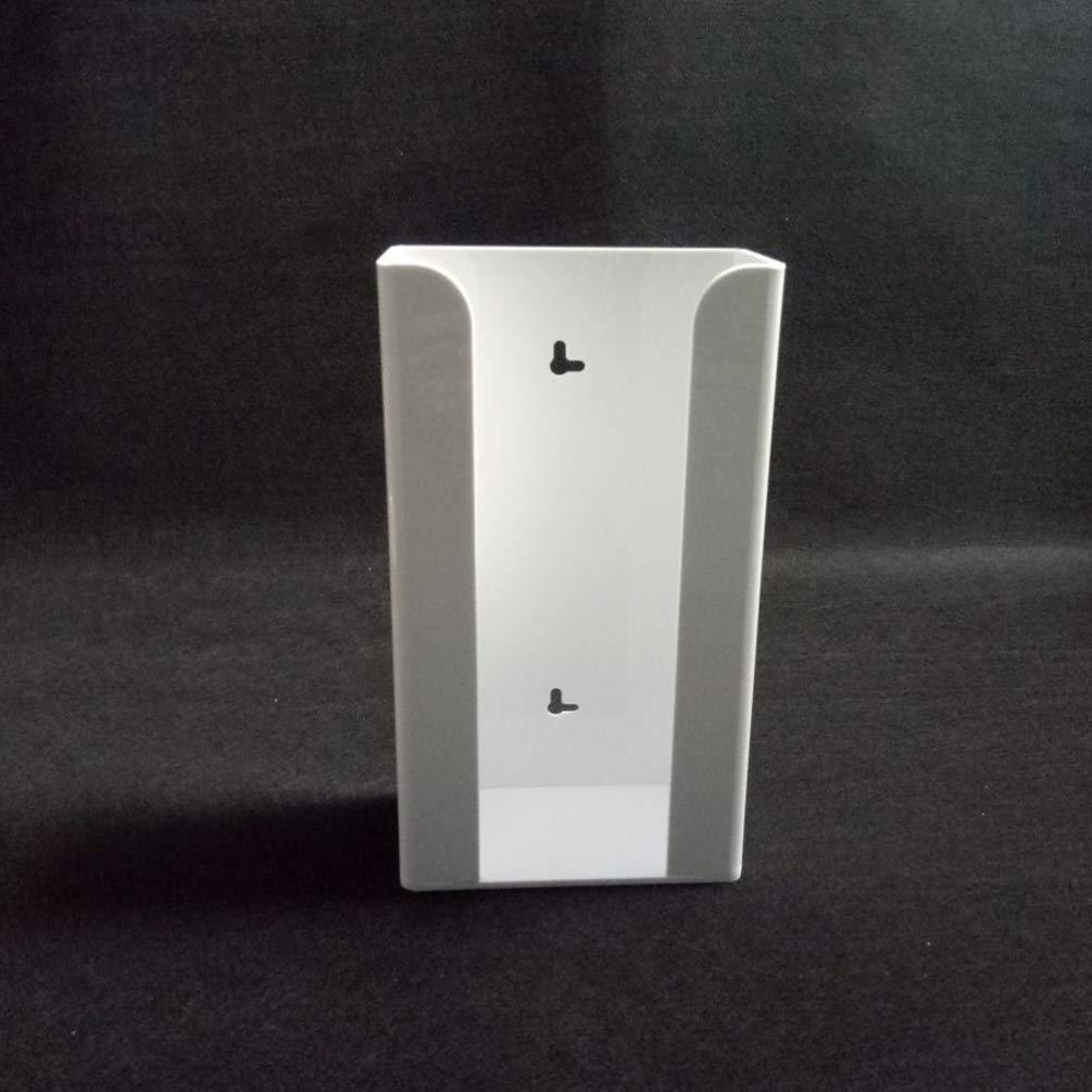 capacidad de 3 guanteras transparente para montar en la pared Dispensador de guantes desechables para pared ibasenice caja de almacenamiento de guantes desechables