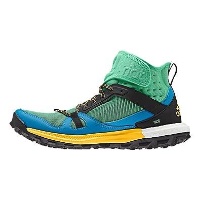 d05a08451ddd6 Adidas Riot Boost Shoe - Women s Green Glow   Solar Blue   Solar Gold 7