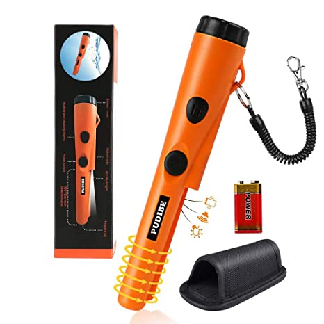 PUDIBE Waterproof Metal Detector pinpointer - 2019 Fully Waterproof Design Metal detectors for Adults Kids,