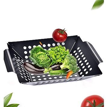 Cuenco para parrilla o verduras con asas, bandeja para ...