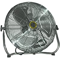 Low Stand Pivoting Air Circulator Fan 20 inch 3390 CFM 3 Speed 78975 by Airmaster Fan