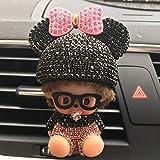 1 PC Car Air Freshener Cute Car Air Condition Vent Decoration Outlet Perfumes Car-Styling Car Accessories Diamond