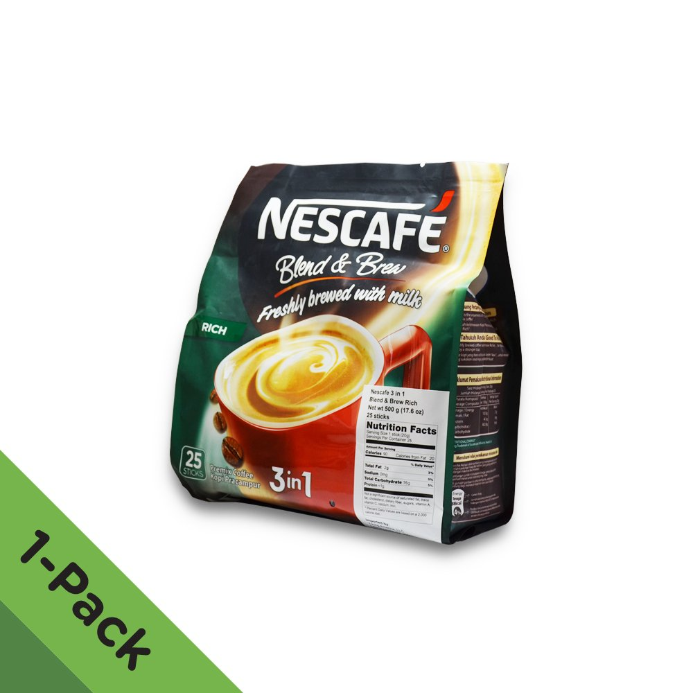 Amazon.com : Nescafé 3 In 1 Instant Coffee Sticks ORIGINAL