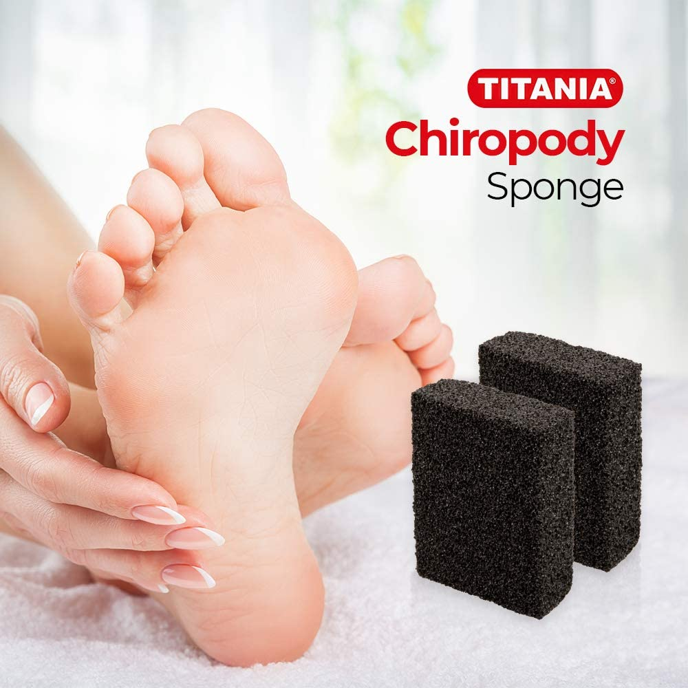 Titania Chiropody Sponge For Foot