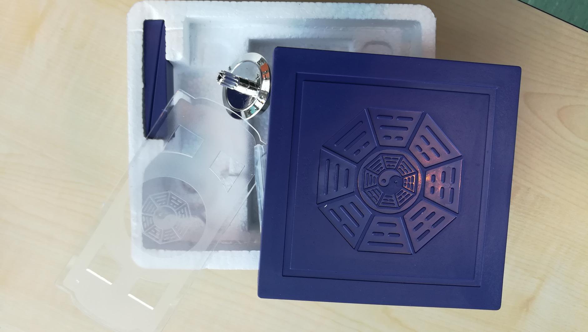 Schwebender Metall-Kreisel mit Magnetboden infactory Magnetkreisel Schwebekreisel