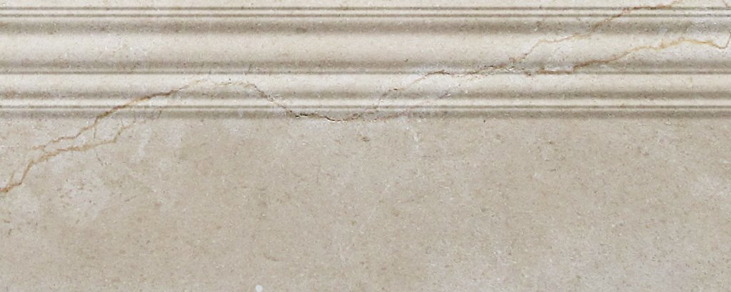 Crema Marfil Premium Spain Polished Marble Accessories Tiles 1 PIECE (BASEBOARD 4x12)