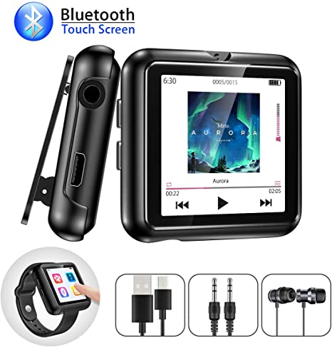 Amazon.com: Gueray - Reproductor MP3 con pinza y Bluetooth ...