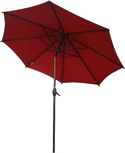 Abba Patio 9 ft Patio Umbrella Outdoor Market Table Umbrella