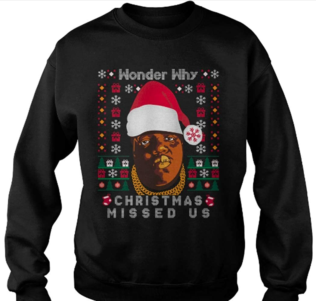 Wonder Why Christmas Missed Us Funny Funny Ugly Christmas Jumper