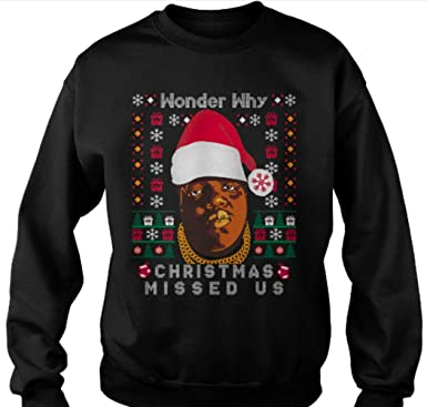 fan print designs wonder why christmas missed us funny funny ugly christmas jumper s