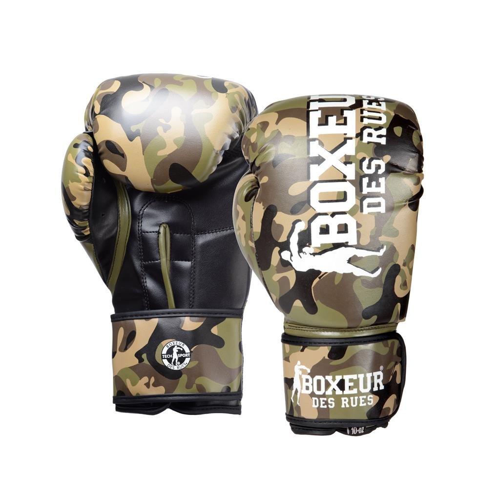 BOXEUR DES RUES Boxer der Stra/ßen Fight Activewear Boxhandschuhe