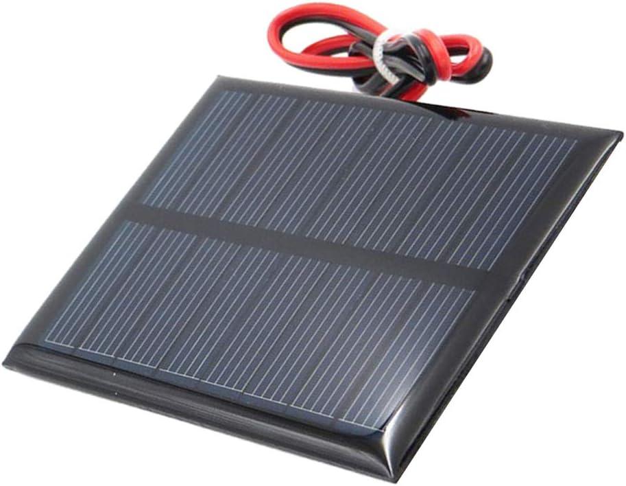 Sharplace Mini Chargeur Solaire De Batterie De Silicium Polycristallin De Panneau Solaire E 5V 90x70mm