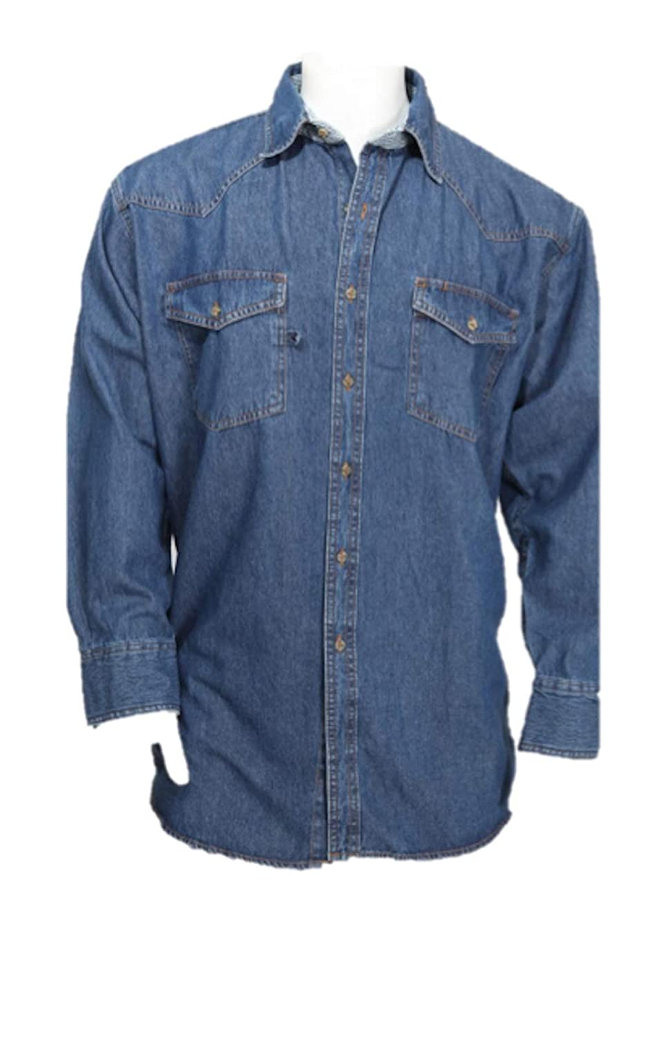 51de1eaaa6 Mens Western Style Denim Shirt – EDGE Engineering and Consulting Limited