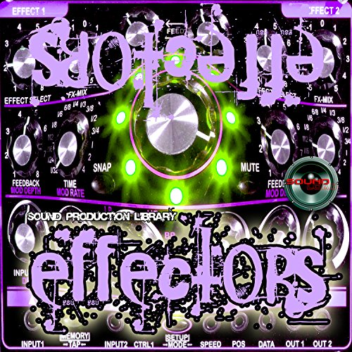 EFFECTORS Real - unique Huge 24bit WAVE Multi-Layer Studio Samples Library on DVD or download by SoundLoad